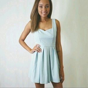 Blue Classic heart dress